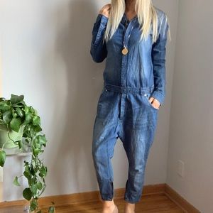 13586fc5ce One Teaspoon x UO coveralls jumpsuit s small